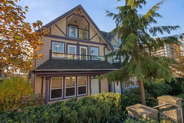 2 3838 ALBERT STREET - Vancouver Heights Townhouse for sale, 3 Bedrooms (R2219200) #1