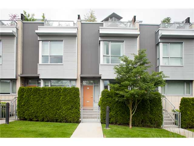 2713 PRINCE EDWARD ST - Mount Pleasant VE Townhouse for sale, 2 Bedrooms (V896251) #1